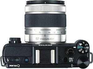 Pentax Q mit Q-Lens 5-15 mm F2.8-4.5 [Foto: MediaNord]