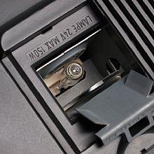 Fototipp – DiaDigifix UNI 50 Lampenschacht geöffnet [Foto: Harm-Diercks Gronewold]