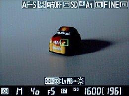 Nikon D800 Screenshot Fokus [Foto: MediaNord]