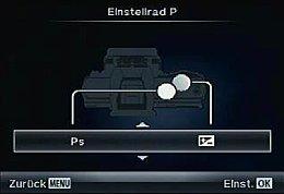 Olympus OM-D E-M5 – Belegung der Bedienräder [Foto: MediaNord]