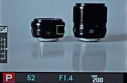 Fujifilm X-Pro1 – LiveView [Foto: MediaNord]