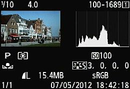 Canon EOS 5D Mark III – Bildwiedergabe [Foto: MediaNord]