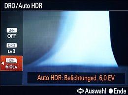 Sony Cyber-shot DSC-RX100 – DRO- und HDR-Einstellung [Foto: MediaNord]