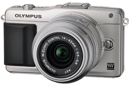 Bild Mit dem Firmwareupdate wird die Olympus Pen E-PM2 mit dem neuen300 mm 1:4 ED IS Pro kompatibel. [Foto: Olympus]