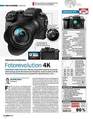 DigitalPhotoKamera-EinzeltestPanasonic Lumix DMC-G70 im Test
