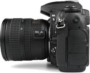 Nikon D200 Seitenansicht  [Foto: MediaNord]