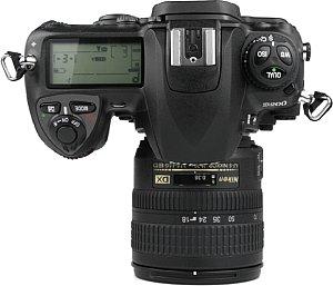 Nikon D200 Draufsicht  [Foto: MediaNord]