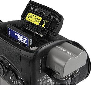 Nikon D200 Detailansicht  [Foto: MediaNord]