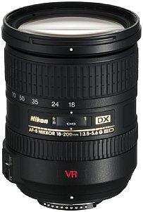 Nikon AF-S DX VR Zoom-Nikkor 18-200mm f/3.5-5.6G IF-ED [Foto: MediaNord]