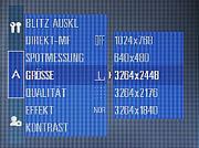 Samsung Digimax Pro 815 Einstellungsmenü 1 [Foto: MediaNord]