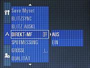 Samsung Digimax Pro 815 Einstellungs Menü 2  [Foto: MediaNord]