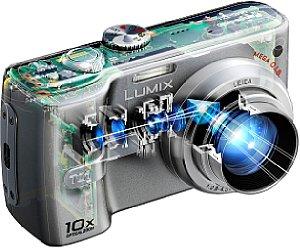 Panasonic Lumix DMC-TZ1 [Schnittzeichnung: Panasonic Deutschland]