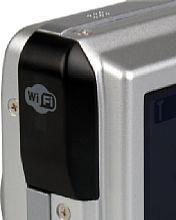Nikon Coolpix P2 WiFi-Antenne [Foto: MediaNord]