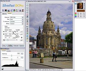 Lasersoft Silverfast DCPro Arbeitsfläche [Screenshot:MediaNord]