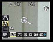 Olympus SP-550 UZ Schnelleinstellungen [Foto: MediaNord]