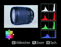 Nikon D7100 – Farbverschiebung in der Kamerabildbearbeitung [Foto: MediaNord]