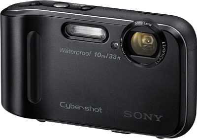 Die Sony Cyber-shot DSC-TF1 besitzt die Schutzklasse IP58 und ist damit staubgeschützt. Sony gibt die Wasserdichtigkeit bis fünf Meter für maximal 60 Minuten an. [Foto: Sony]