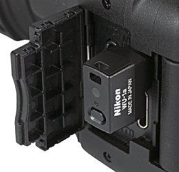 Nikon WU-1a an der D5200 [Foto: MediaNord]