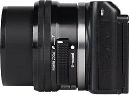 Sony NEX-3N mit E 16-50 mm (SEL-P1650) [Foto: MediaNord]