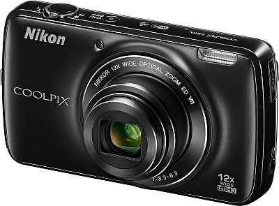 Nikon Coolpix S810c in Schwarz. [Foto: Nikon]