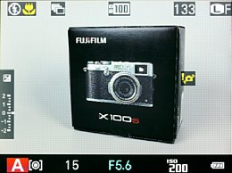 Fujifilm X100S – Live-View [Foto: MediaNord]