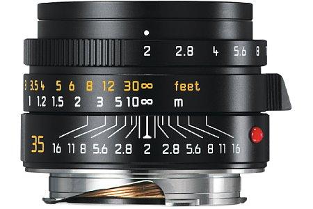Bild Das neue Leica Summicron-M 1:2/35 mm Asph. besitzt elf Blendenlamellen für ein noch schöneres Bokeh. [Foto: Leica]