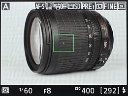 Nikon D7100 – Live-View [Foto: MediaNord]