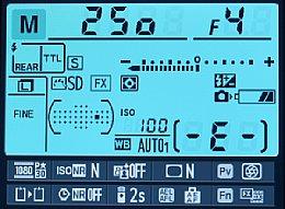 Nikon D600 – Infobildschirm [Foto: MediaNord]
