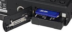 Panasonic Lumix DMC-TZ61 Speicherkartenfach und Akkufach [Foto: MediaNord]