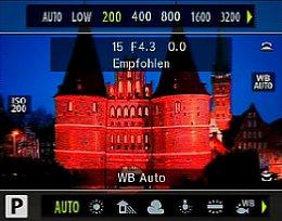 Olympus OM-D E-M10 – ISO- und Weißabgleichseinstellung [Foto: Olympus]