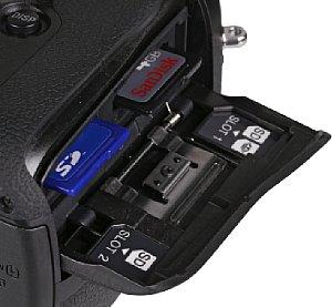 Sony Alpha 99 Speicherkartenfach [Foto: MediaNord]