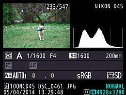 Nikon D4S – Bildwiedergabe mit Detailanzeige [Foto: Martin Vieten]