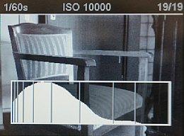 Leica M Monochrom – Das Histogramm der Leica M Monochrom basiert auf den vollen Raw-Daten und ist daher sehr genau. [Foto: Martin Vieten]