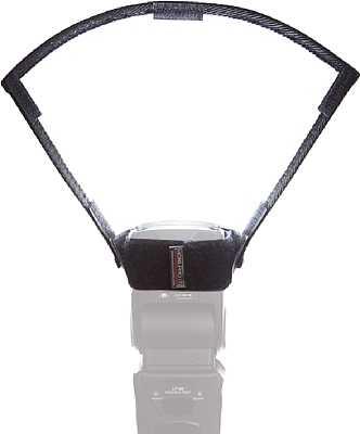 Das Honl Photo Light Paddle besitzt neben einer weißen Reflektionsfläche auch noch anklettbare Silber/Gold- und Graue-Reflektionsflächen. [Foto: Honl Photo]