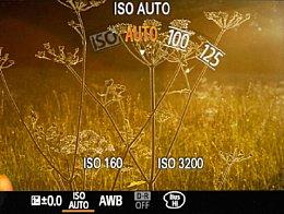Sony DSC-RX100 II – ISO-Einstellung [Foto: Martin Vieten]