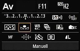 Canon EOS 6D – Info-Display mit Schnellmenü [Foto: MediaNord]
