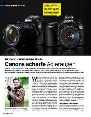 DigitalPhotoKamera-EinzeltestCanon EOS 5DS und 5DS R im Praxistest