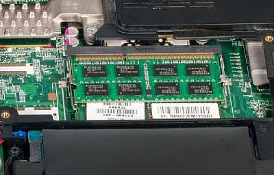 """Nach dem Austausch des Speicher-Moduls: Mit 6 GByte RAM hat der Laptop deutlich mehr """"Luft zum Atmen"""". Der Geschwindigkeitszuwachs ist beträchtlich, das ganze System fühlt sich agiler an. [Foto: MediaNord]"""