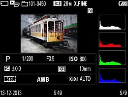 Sony Cyber-shot DSC-RX10 – Bildwiedergabe [Foto: MediaNord]