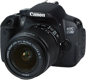 Canon EOS 650D mit 18-55 mm IS II [Foto: MediaNord]