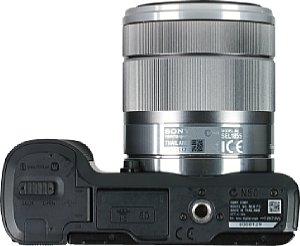 Sony NEX-F3 mit E 18-55 mm [Foto: MediaNord]
