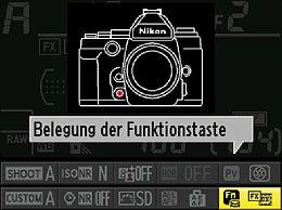 Nikon Df – Belegung der Funktionstaste [Foto: Martin Vieten]