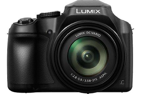 Bild Dank WLAN kann die Panasonic Lumix DC-FZ82 Fotos an Smartphones senden und lässt sich zudem via App fernsteuern. [Foto: Panasonic]