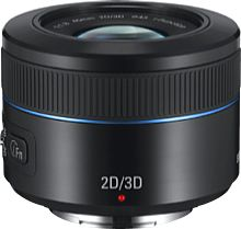 Samsung NX Lens 45 mm 2D/3D Objektiv [Foto: Samsung]