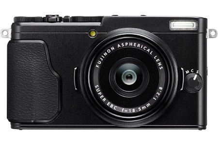 Bild Der Hybrid-Autofokus der Fujifilm X70 stellt dank einer Kombination aus auf dem Sensor integrierten Phasen-AF-Sensoren und Kontrastautofokus innerhalb von 0,1 Sekunden scharf. Auch bei sieben Serienbildern pro Sekunde kann der Fokus nachgeführt werden. [Foto: Fujifilm]