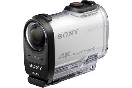 Bild Das neue wasserfeste GehäuseSPK-X1 speziell für die Sony FDR-X100V ist serienmäßig bis 10 Meter wasserdicht. [Foto: Sony]