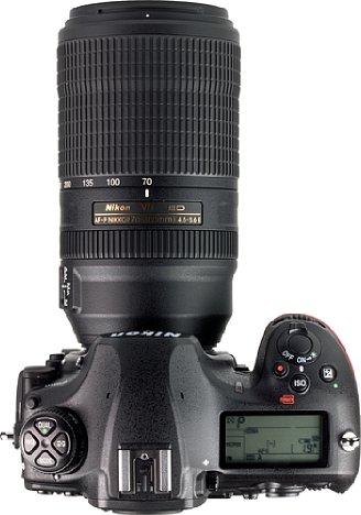 Bild Das Nikon AF-P 70-300 mm 4.5-5.6E ED VR bietet aufgrund seiner Autofokustechnik keine Entfernungsanzeige mehr. Der elektronische Fokusring erlaubt hingegen eine äußerst präzise manuelle Fokussierung. [Foto: MediaNord]