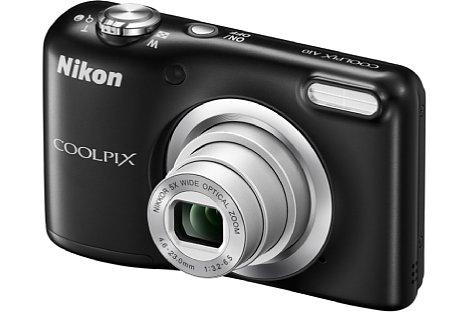 Bild Die Nikon Coolpix A10 besitzt dasselbe 26-130mm-Zoom wie die die A100, der CCD-Sensor löst jedoch nur 16 Megapixel auf. [Foto: Nikon]