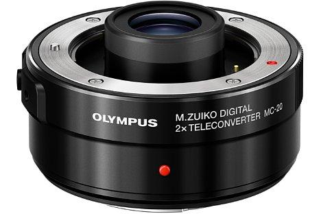 Bild Der Olympus Telekonverter MC-20 passt aktuell lediglich auf die beiden Objektive M.Zuiko Digital ED 300 mm F4.0 IS Pro und M.Zuiko Digital ED 40-150 mm F2.8 Pro. [Foto: Olympus]
