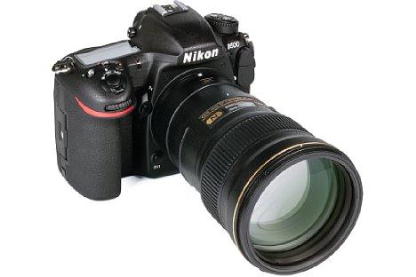 Bild Zusammen mit der Nikon D500 ist das AF-S 300 mm 4 E PF ED VR mit 450 mm Kleinbildäquivalent eine tolle Kombination für Sportfotografie. [Foto: MediaNord]